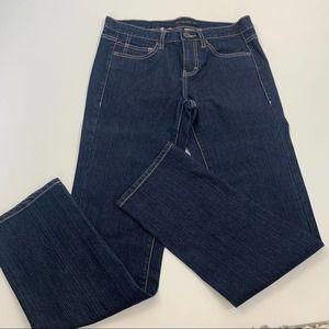 Vintage 90s Calvin Klein Dark Wash Straight Jeans